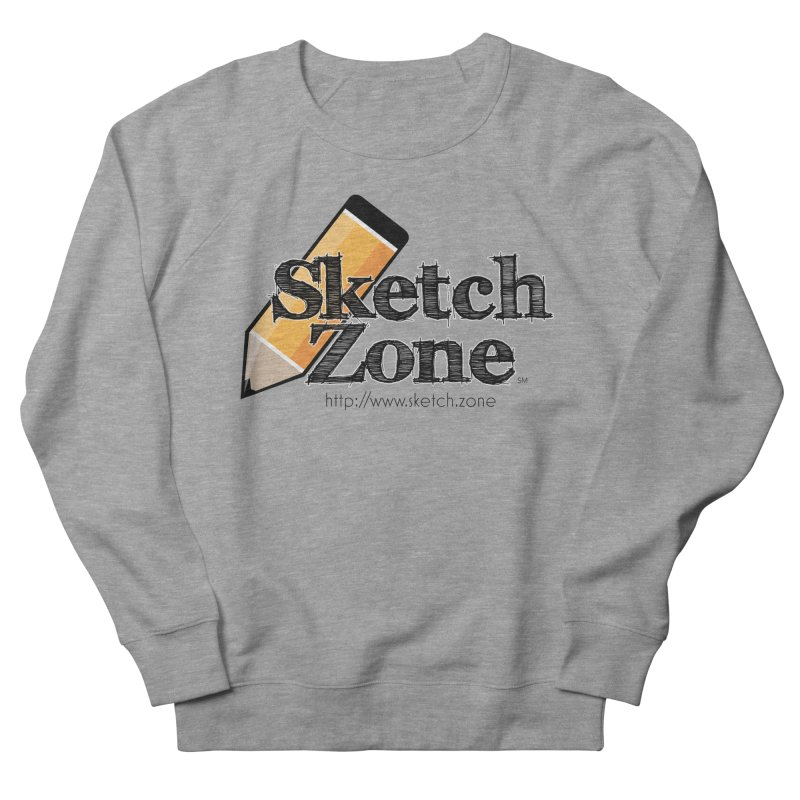 Throwback Sketch Zone Logo Women's Sweatshirt by Coconut Justice's Artist Shop