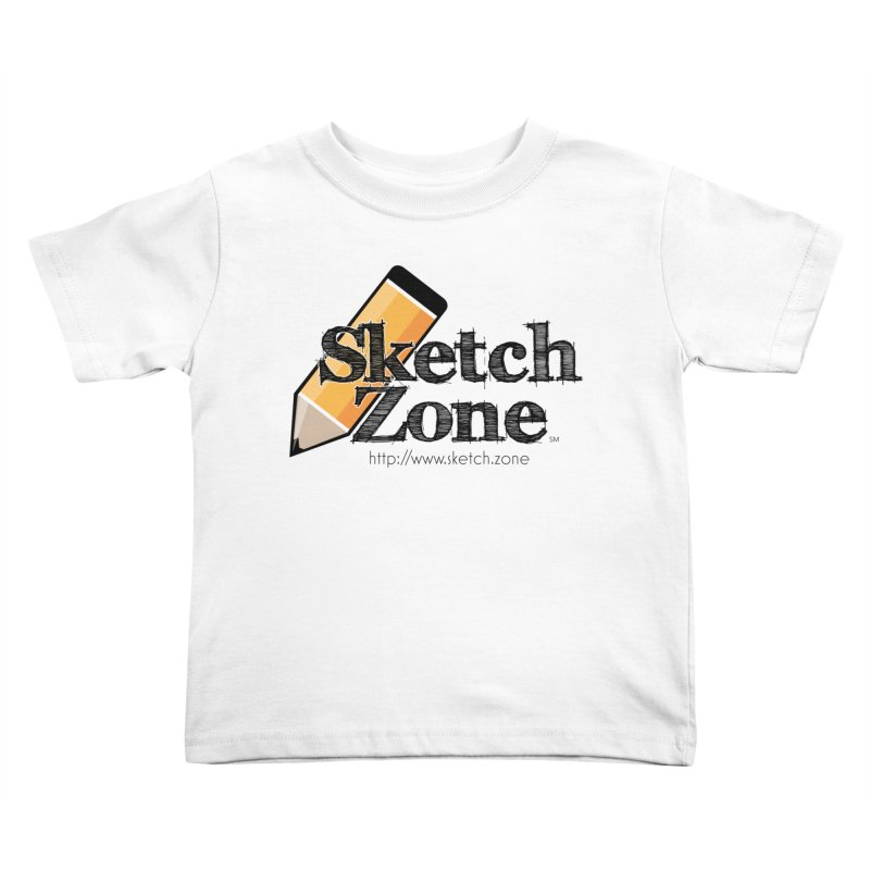 Throwback Sketch Zone Logo Kids Toddler T-Shirt by Coconut Justice's Artist Shop