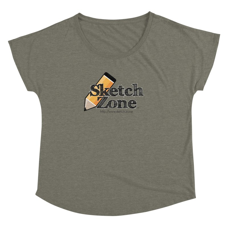 Throwback Sketch Zone Logo Women's Dolman by Coconut Justice's Artist Shop