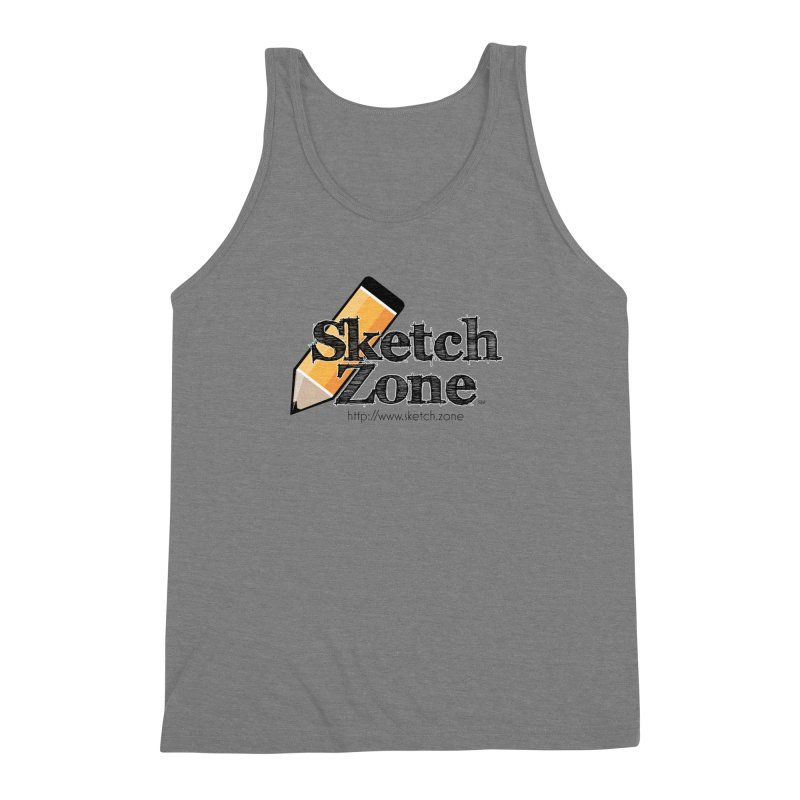 Throwback Sketch Zone Logo Men's  by Coconut Justice's Artist Shop