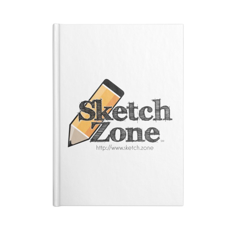 Throwback Sketch Zone Logo Accessories Lined Journal Notebook by Coconut Justice's Artist Shop