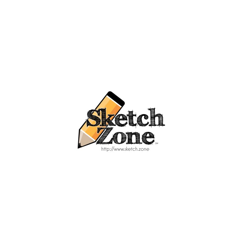 Throwback Sketch Zone Logo - Small Logo Men's T-Shirt by Coconut Justice's Artist Shop