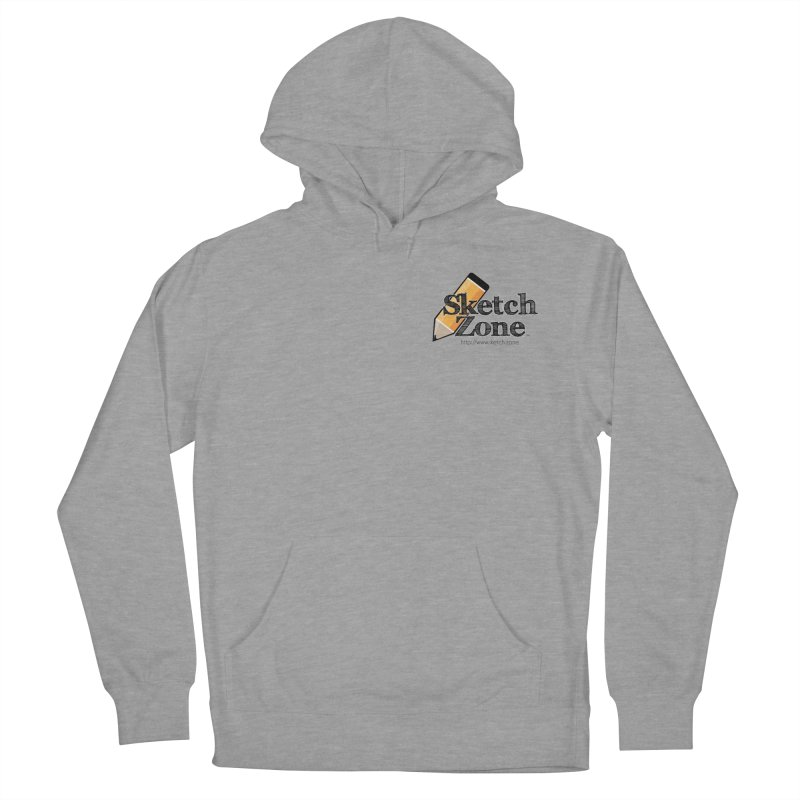 Throwback Sketch Zone Logo - Small Logo Women's Pullover Hoody by Coconut Justice's Artist Shop
