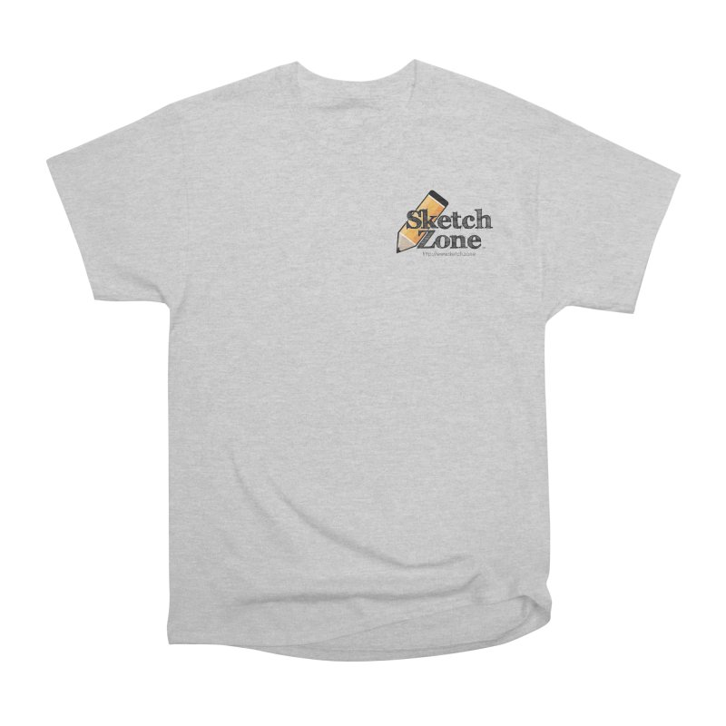 Throwback Sketch Zone Logo - Small Logo Men's Classic T-Shirt by Coconut Justice's Artist Shop
