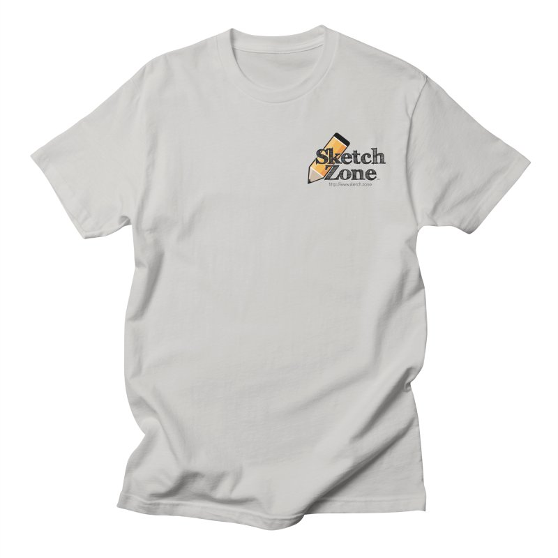Throwback Sketch Zone Logo - Small Logo Women's Unisex T-Shirt by Coconut Justice's Artist Shop