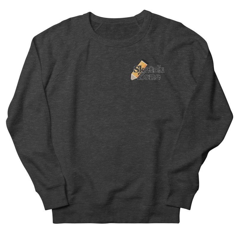 Throwback Sketch Zone Logo - Small Logo Women's Sweatshirt by Coconut Justice's Artist Shop