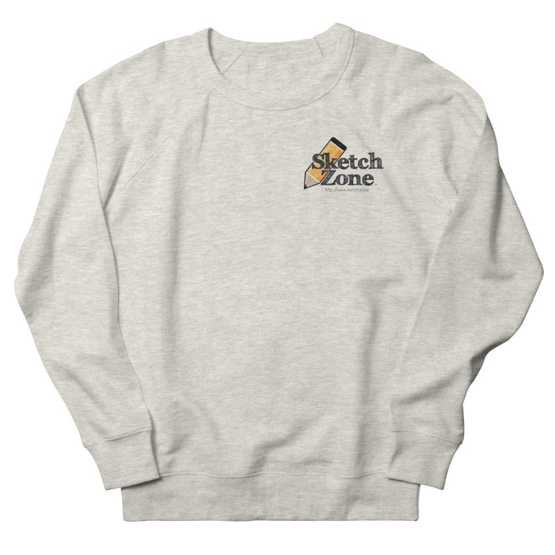 Throwback Sketch Zone Logo - Small Logo Men's Sweatshirt by Coconut Justice's Artist Shop