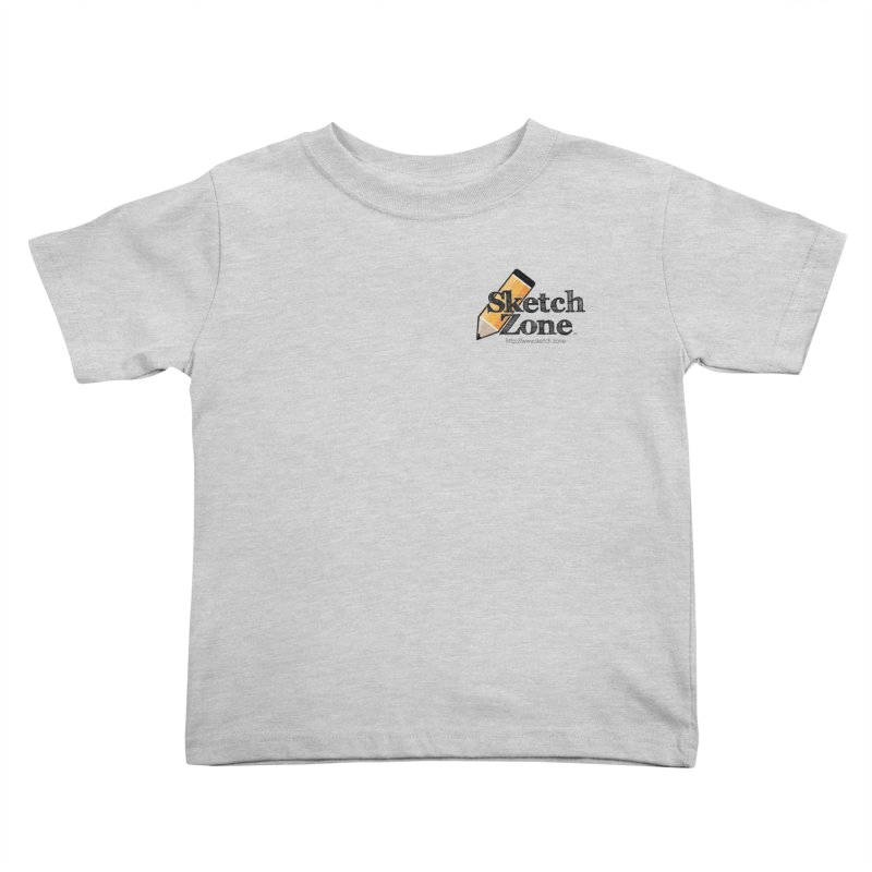 Throwback Sketch Zone Logo - Small Logo Kids  by Coconut Justice's Artist Shop