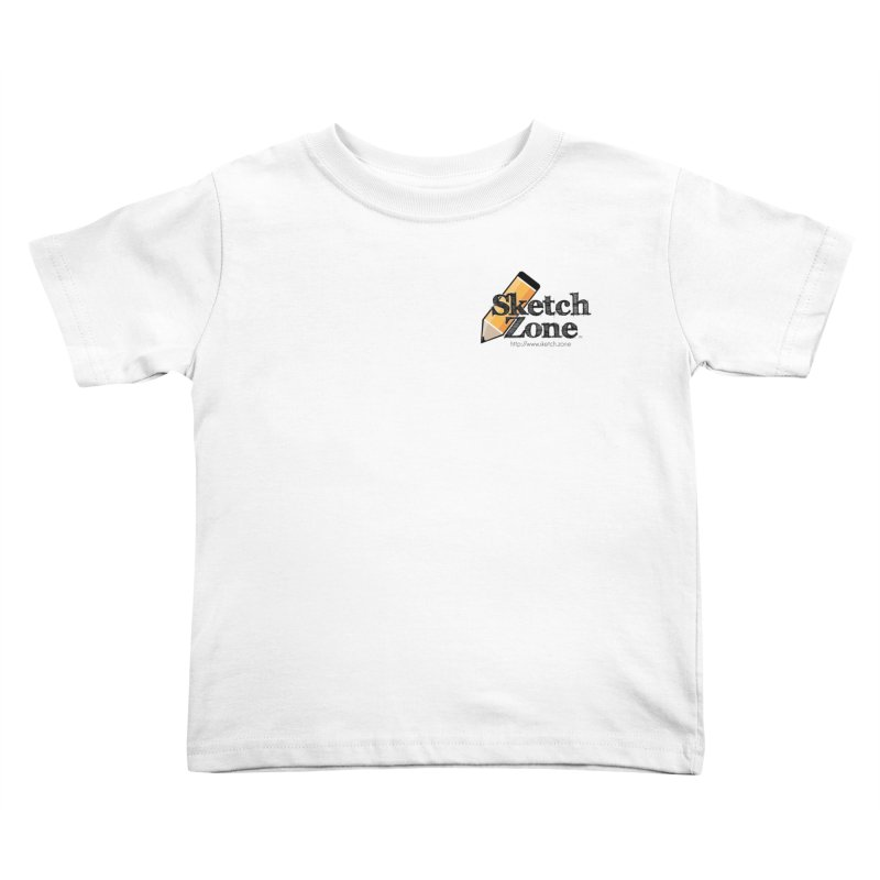 Throwback Sketch Zone Logo - Small Logo Kids Toddler T-Shirt by Coconut Justice's Artist Shop