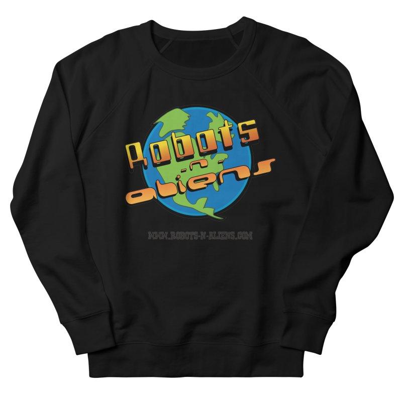 Robots 'n Aliens Big Logo Women's Sweatshirt by Coconut Justice's Artist Shop