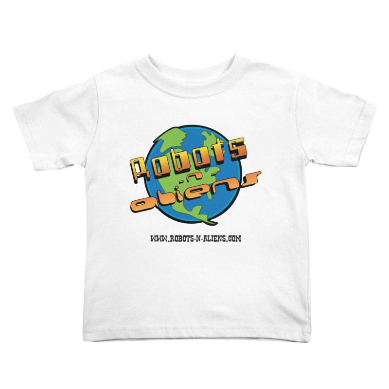 Robots 'n Aliens Big Logo Kids  by Coconut Justice's Artist Shop