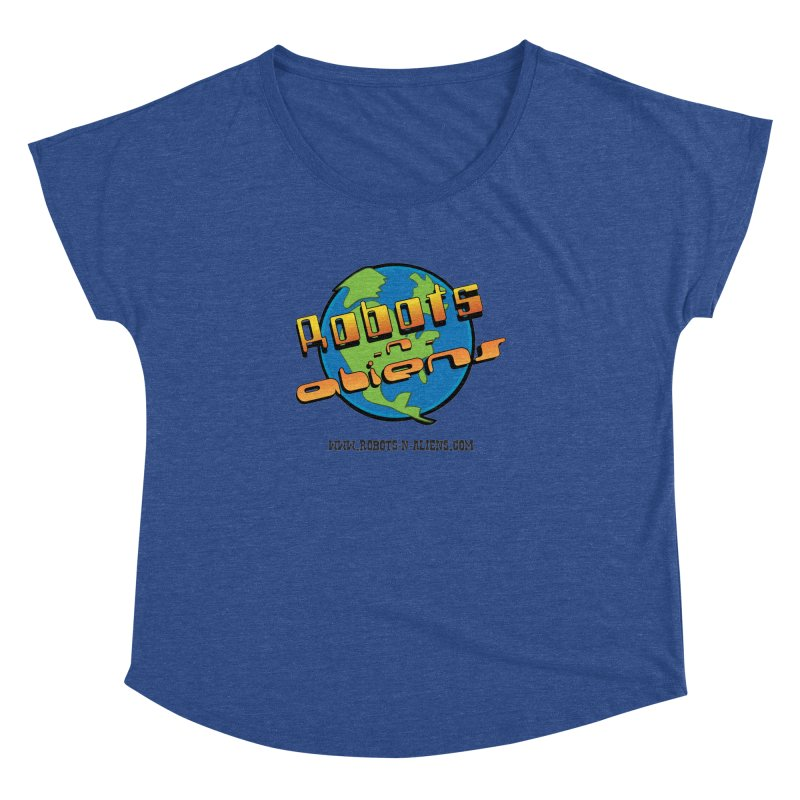 Robots 'n Aliens Big Logo Women's  by Coconut Justice's Artist Shop