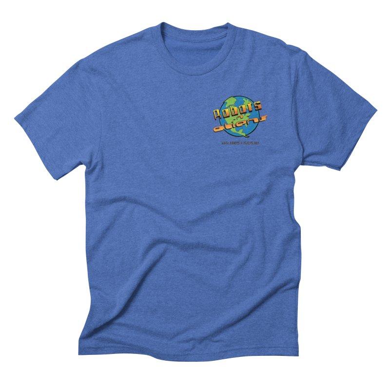 Robots 'n Aliens Logo Small Men's T-Shirt by Coconut Justice's Artist Shop