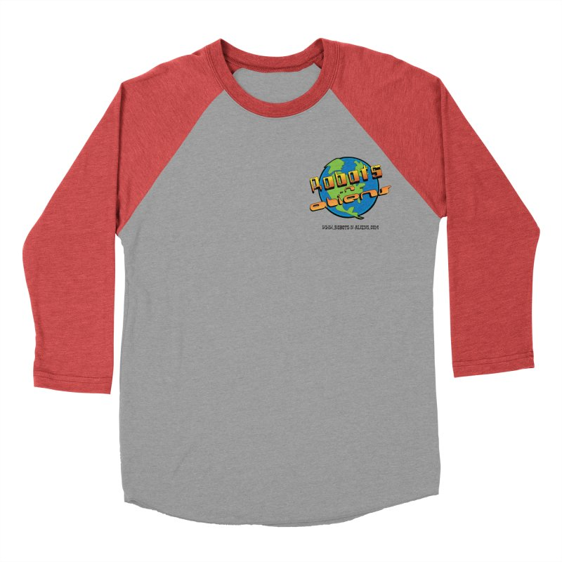 Robots 'n Aliens Logo Small Men's Longsleeve T-Shirt by Coconut Justice's Artist Shop