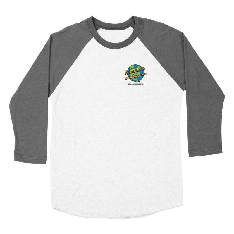 Robots 'n Aliens Logo Small Women's Longsleeve T-Shirt by Coconut Justice's Artist Shop