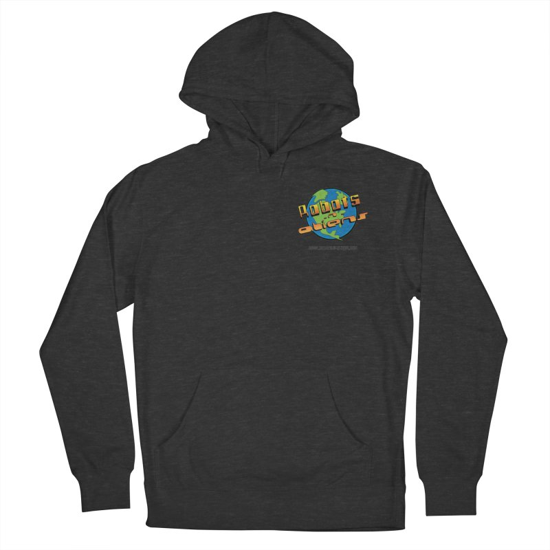Robots 'n Aliens Logo Small Women's Pullover Hoody by Coconut Justice's Artist Shop