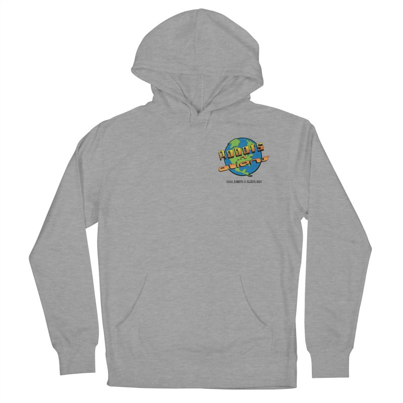 Robots 'n Aliens Logo Small Men's Pullover Hoody by Coconut Justice's Artist Shop