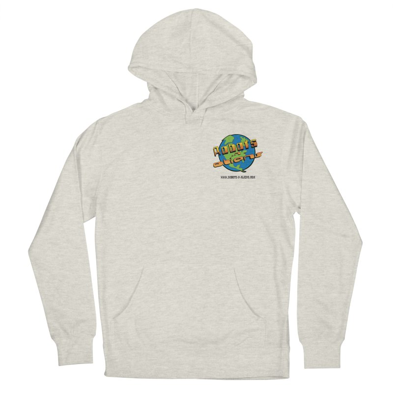 Robots 'n Aliens Logo Small Men's Pullover Hoody by Coconut Justice's Artist Shop