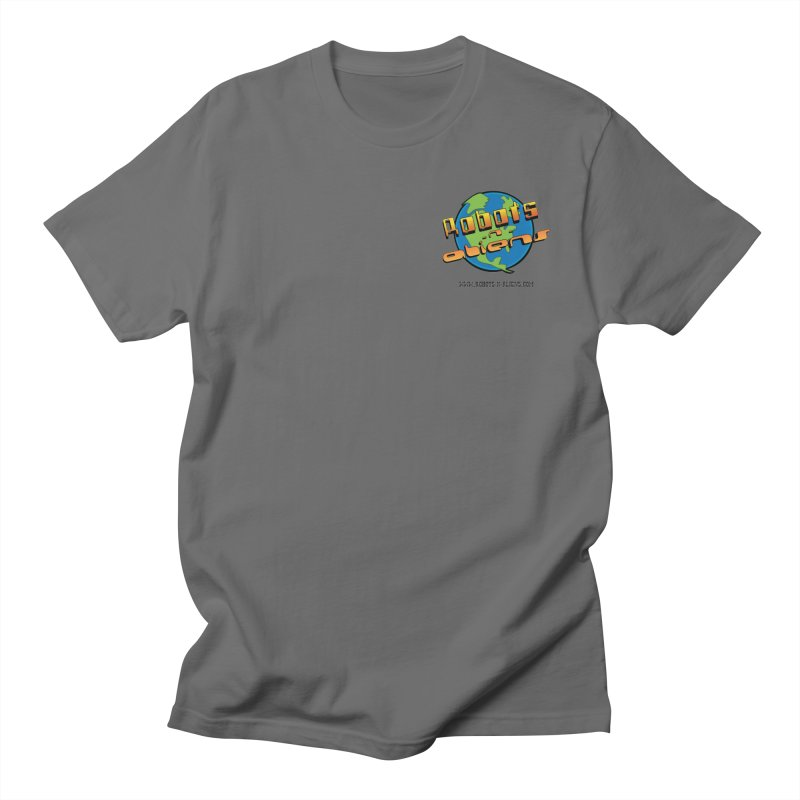 Robots 'n Aliens Logo Small Men's T-Shirt by Coconut Justice's Artist Shop