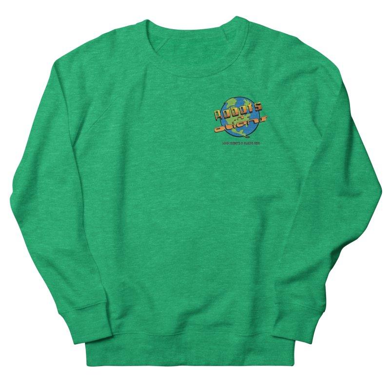 Robots 'n Aliens Logo Small Women's Sweatshirt by Coconut Justice's Artist Shop