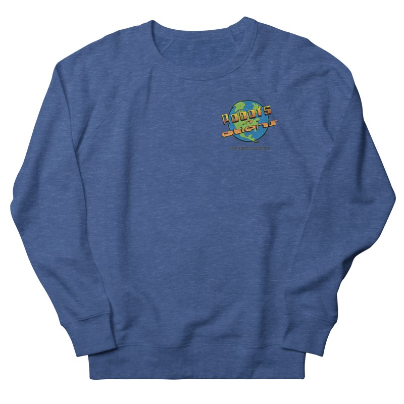Robots 'n Aliens Logo Small Men's Sweatshirt by Coconut Justice's Artist Shop