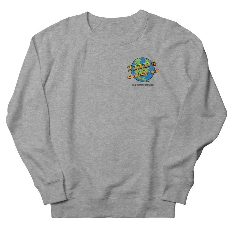 Robots 'n Aliens Logo Small Men's Sweatshirt by Coconut Justice's Artist Shop