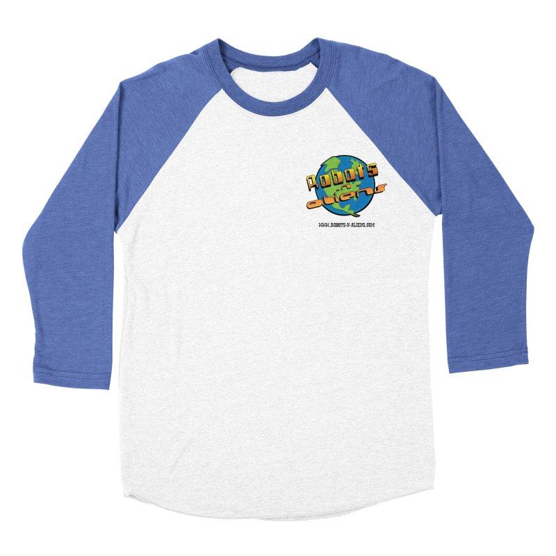 Robots 'n Aliens Logo Small Women's Baseball Triblend T-Shirt by Coconut Justice's Artist Shop