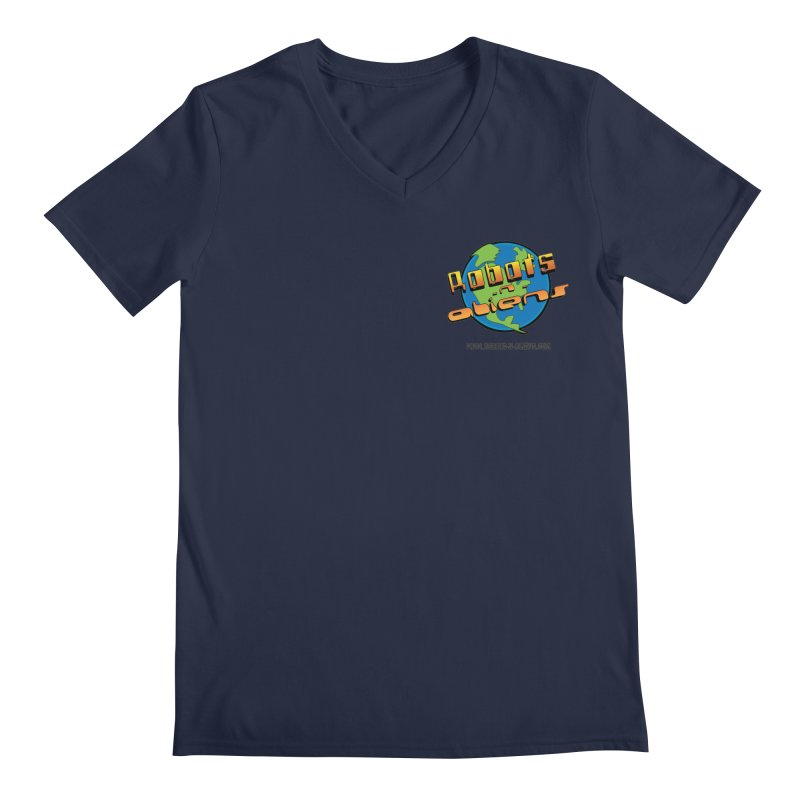 Robots 'n Aliens Logo Small Men's  by Coconut Justice's Artist Shop
