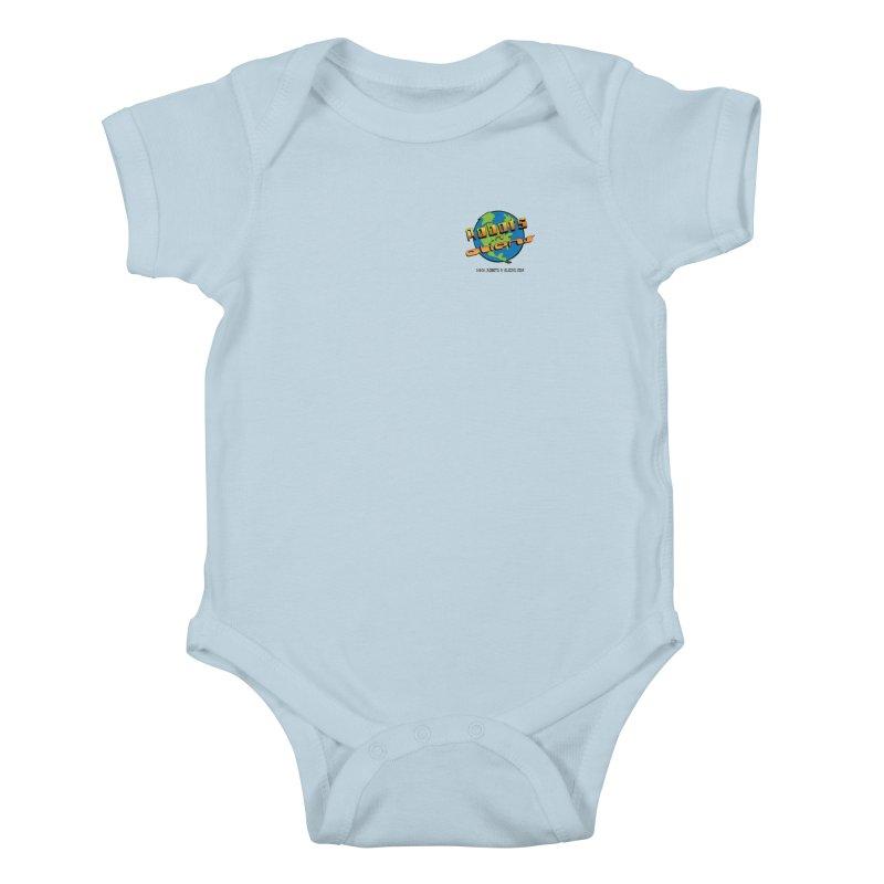 Robots 'n Aliens Logo Small Kids Baby Bodysuit by Coconut Justice's Artist Shop