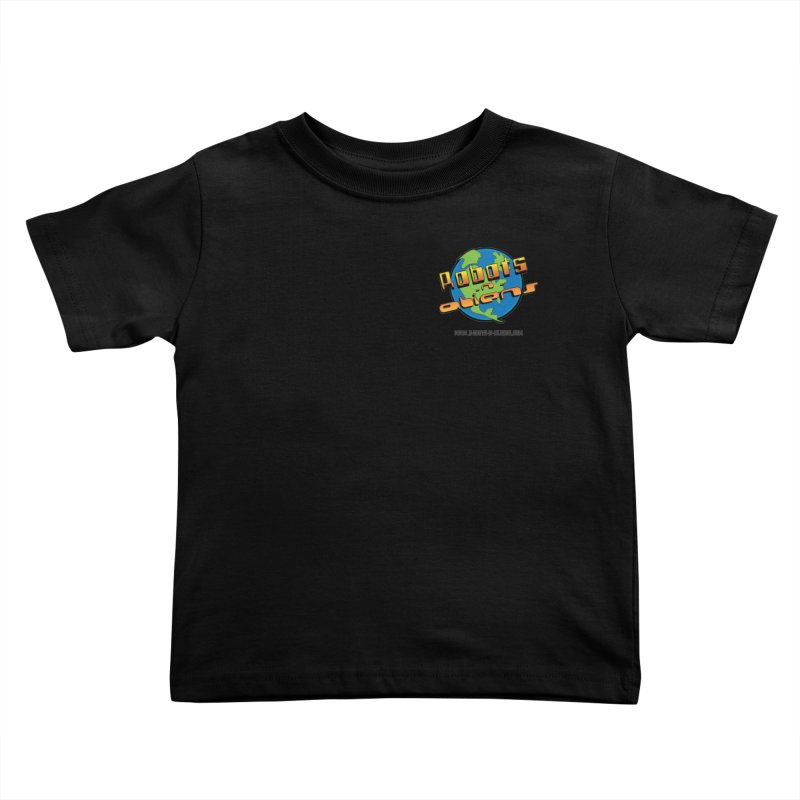 Robots 'n Aliens Logo Small Kids Toddler T-Shirt by Coconut Justice's Artist Shop
