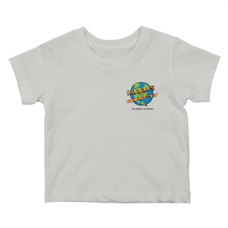 Robots 'n Aliens Logo Small Kids Baby T-Shirt by Coconut Justice's Artist Shop