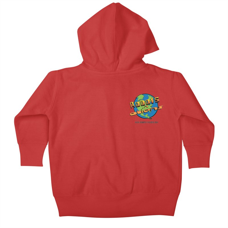 Robots 'n Aliens Logo Small Kids Baby Zip-Up Hoody by Coconut Justice's Artist Shop