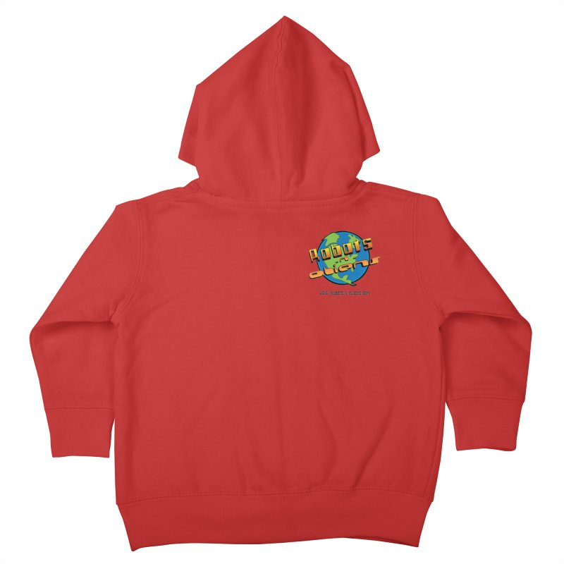 Robots 'n Aliens Logo Small Kids Toddler Zip-Up Hoody by Coconut Justice's Artist Shop