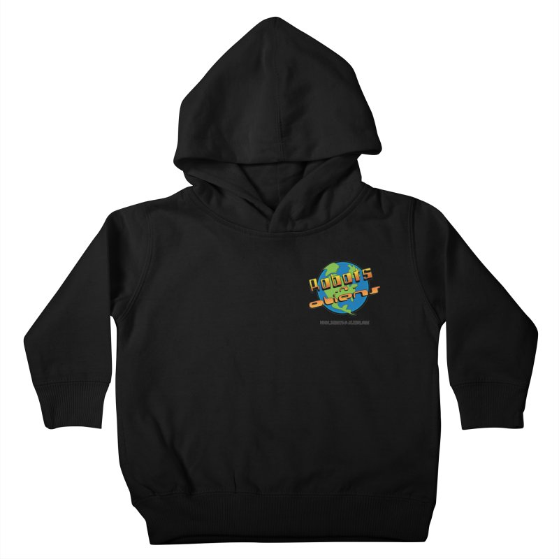 Robots 'n Aliens Logo Small Kids Toddler Pullover Hoody by Coconut Justice's Artist Shop