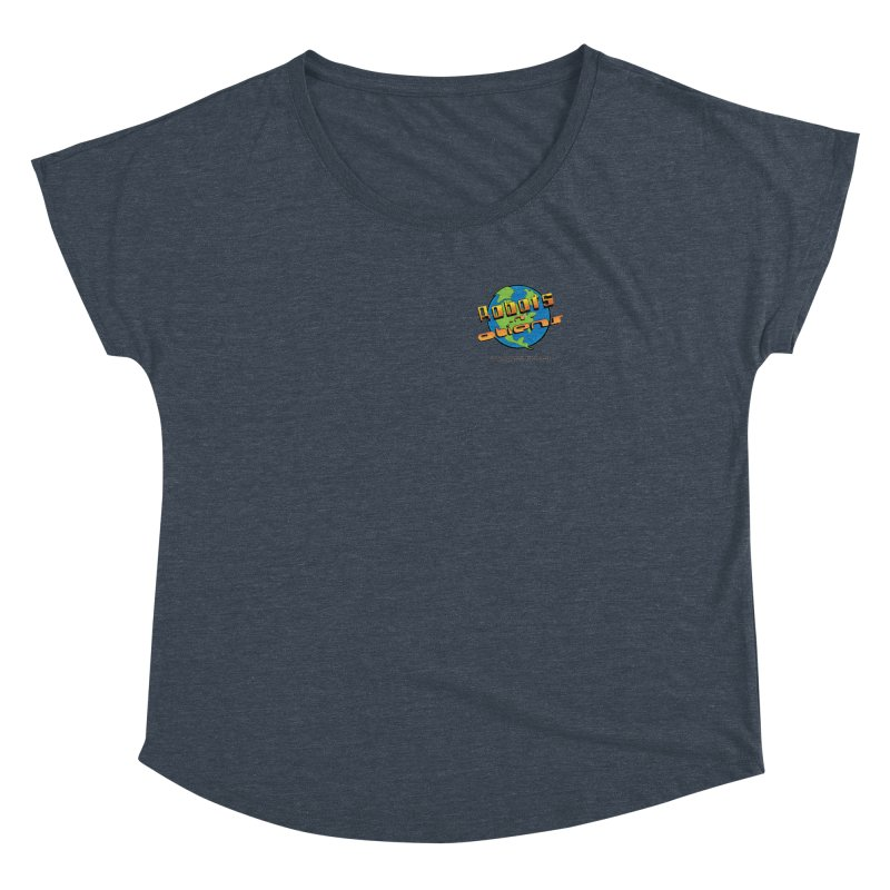 Robots 'n Aliens Logo Small Women's Dolman by Coconut Justice's Artist Shop