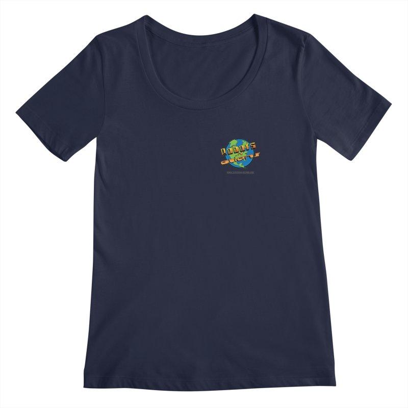 Robots 'n Aliens Logo Small Women's  by Coconut Justice's Artist Shop