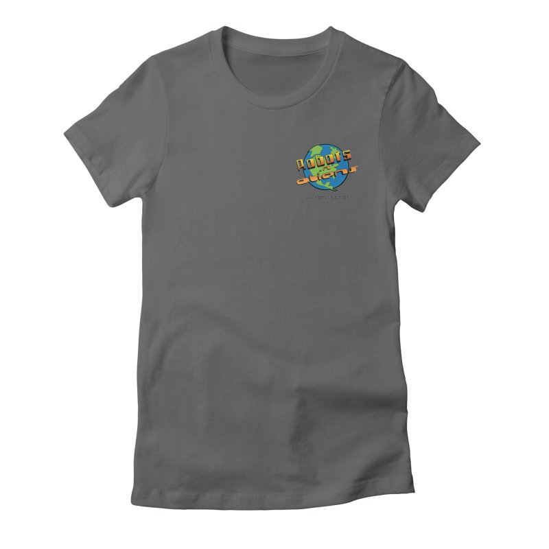 Robots 'n Aliens Logo Small Women's T-Shirt by Coconut Justice's Artist Shop