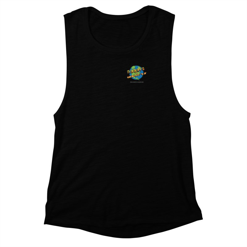 Robots 'n Aliens Logo Small Women's Muscle Tank by Coconut Justice's Artist Shop