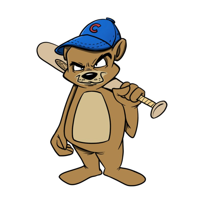 Baseball Bear None  by Coconut Justice's Artist Shop