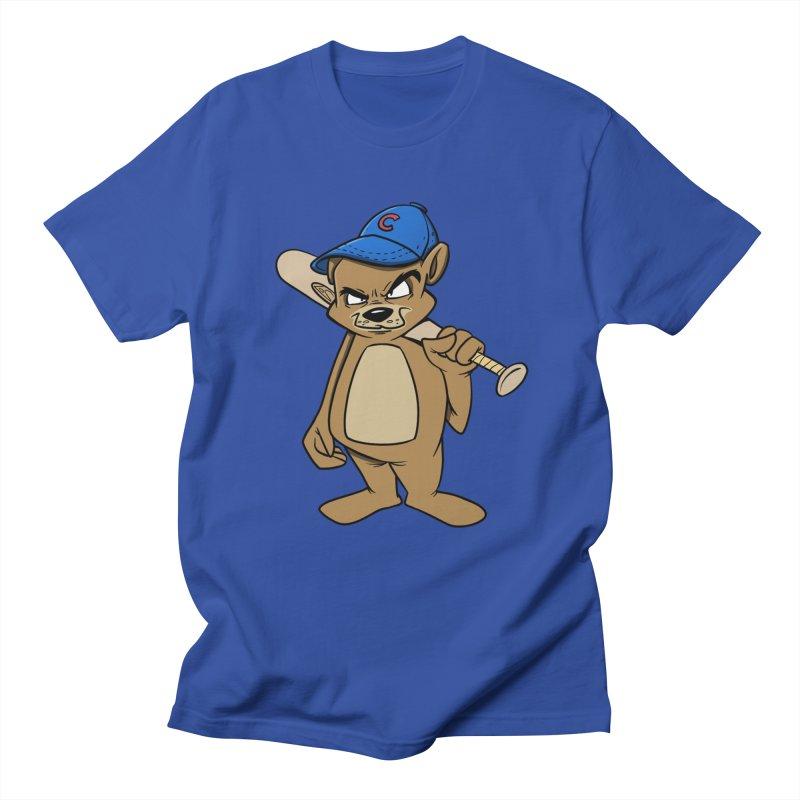 Baseball Bear Men's Regular T-Shirt by Coconut Justice's Artist Shop