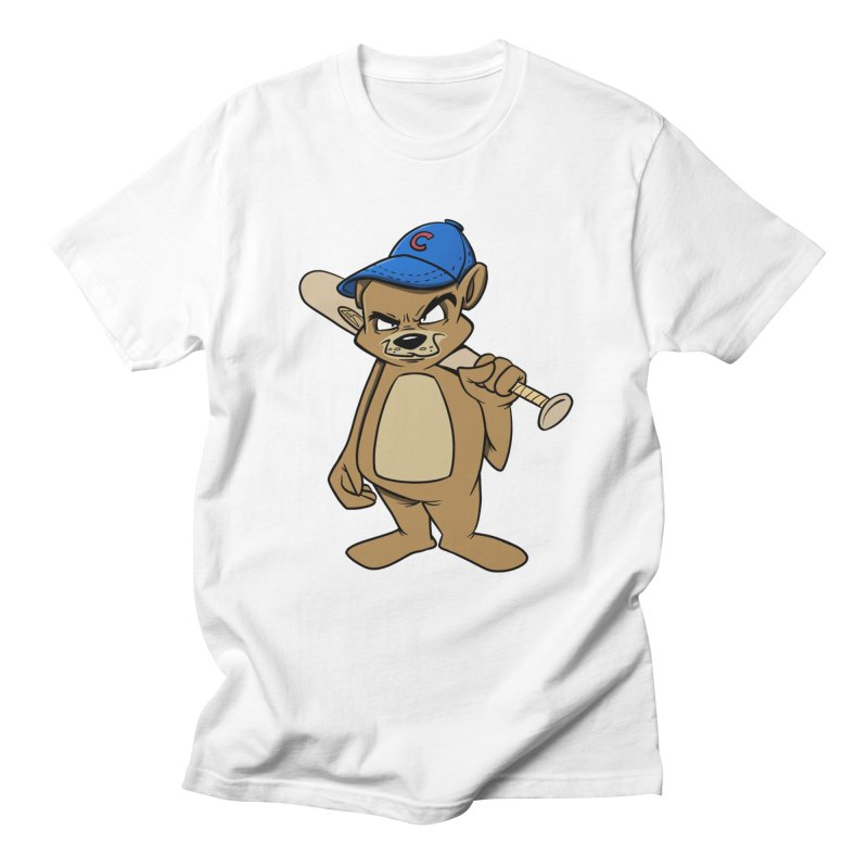 Baseball Bear Men's T-Shirt by Coconut Justice's Artist Shop