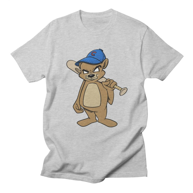 Baseball Bear Men's T-shirt by Coconut Justice's Artist Shop