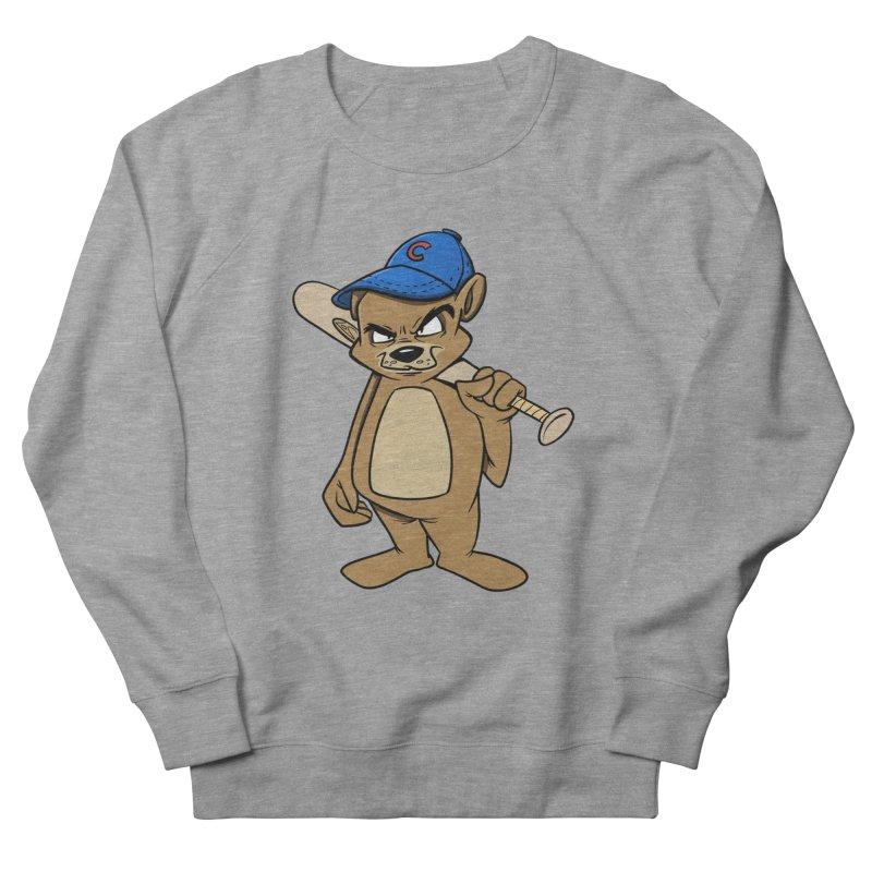 Baseball Bear Women's French Terry Sweatshirt by Coconut Justice's Artist Shop