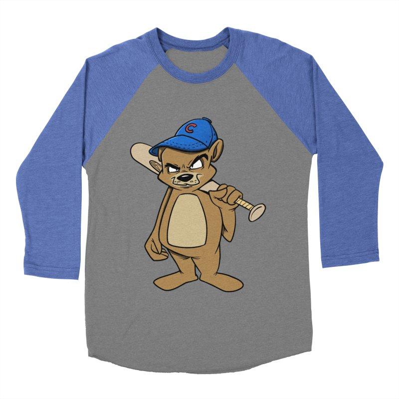 Baseball Bear Women's Baseball Triblend T-Shirt by Coconut Justice's Artist Shop