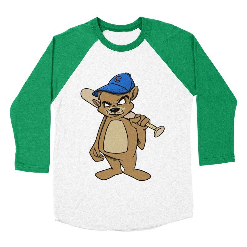 Baseball Bear Men's Baseball Triblend T-Shirt by Coconut Justice's Artist Shop