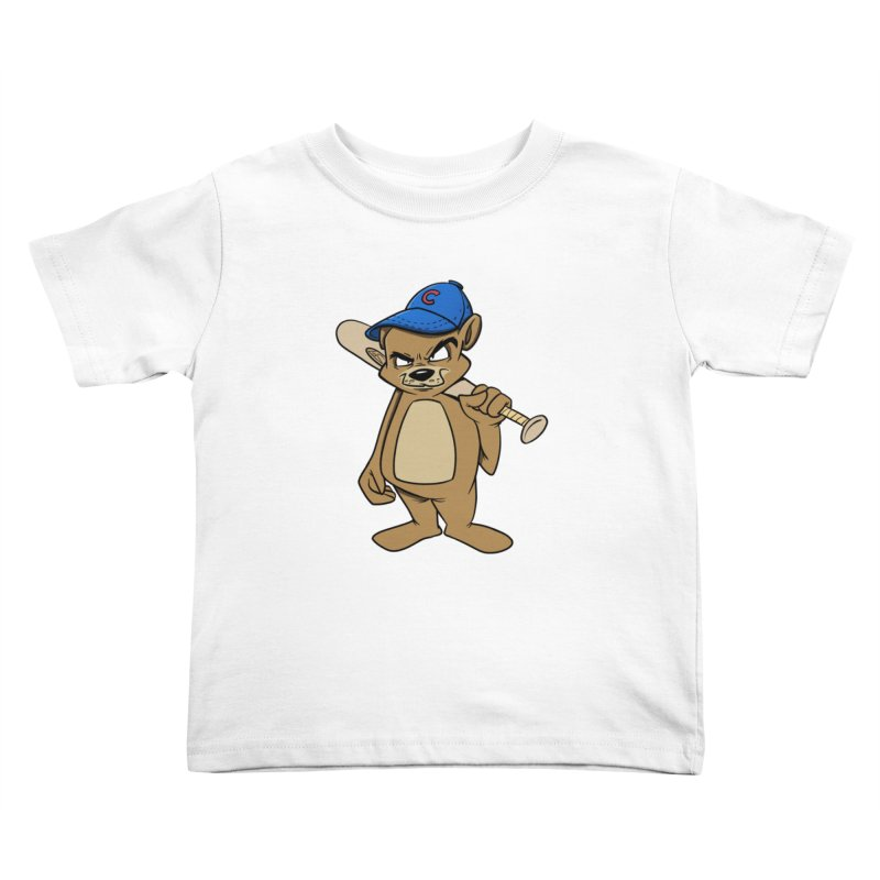 Baseball Bear Kids Toddler T-Shirt by Coconut Justice's Artist Shop