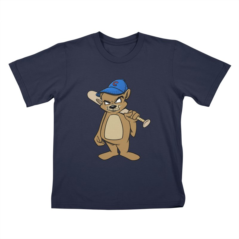Baseball Bear Kids T-shirt by Coconut Justice's Artist Shop