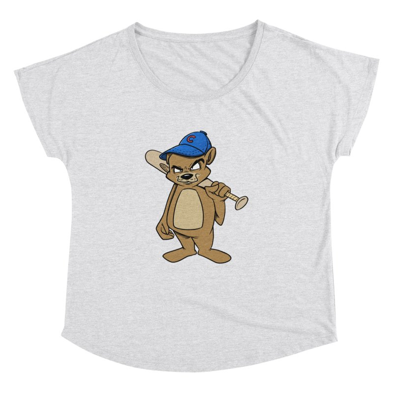 Baseball Bear Women's Dolman by Coconut Justice's Artist Shop