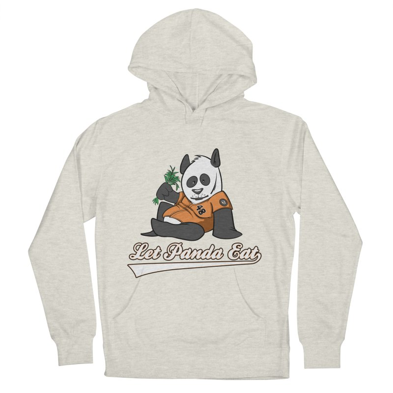 Let Panda Eat! Men's French Terry Pullover Hoody by Coconut Justice's Artist Shop