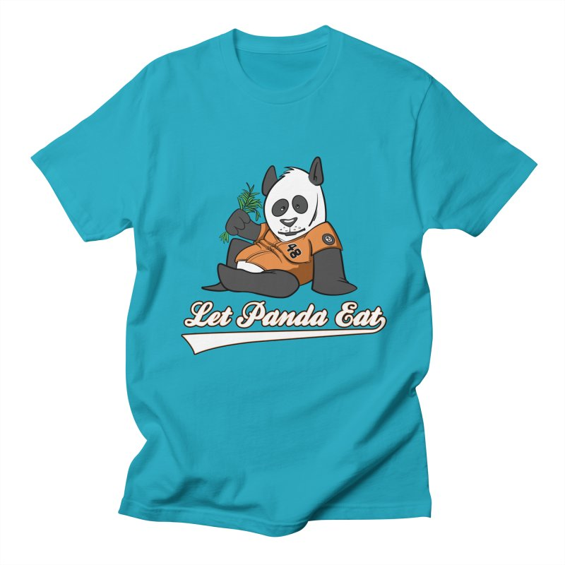Let Panda Eat! Men's T-shirt by Coconut Justice's Artist Shop